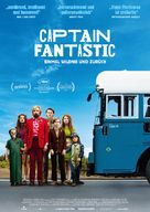 Captain Fantastic - German Movie Poster (xs thumbnail)
