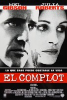 Conspiracy Theory - Argentinian Movie Poster (xs thumbnail)