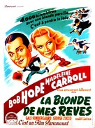 My Favorite Blonde - French Movie Poster (xs thumbnail)