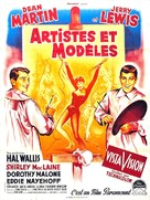Artists and Models - French Movie Poster (xs thumbnail)