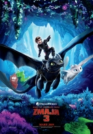 How to Train Your Dragon: The Hidden World - Serbian Movie Poster (xs thumbnail)