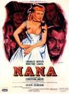 Nana - French Movie Poster (xs thumbnail)