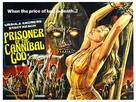 La montagna del dio cannibale - British Movie Poster (xs thumbnail)