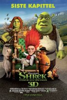 Shrek Forever After - Norwegian Movie Poster (xs thumbnail)