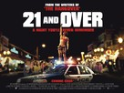 21 and Over - British Movie Poster (xs thumbnail)