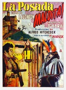 Jamaica Inn - Mexican Movie Poster (xs thumbnail)