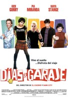 Garage Days - Spanish Movie Poster (xs thumbnail)