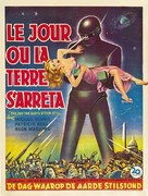 The Day the Earth Stood Still - Belgian Movie Poster (xs thumbnail)
