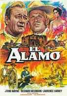 The Alamo - Spanish Movie Poster (xs thumbnail)