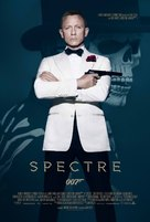 Spectre - Danish Movie Poster (xs thumbnail)