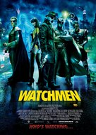 Watchmen - Norwegian Movie Poster (xs thumbnail)