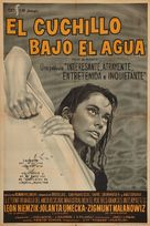 Nóz w wodzie - Argentinian Movie Poster (xs thumbnail)