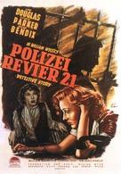 Detective Story - German Movie Poster (xs thumbnail)