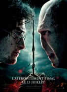 Harry Potter and the Deathly Hallows: Part II - French Movie Poster (xs thumbnail)