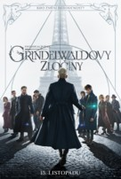 Fantastic Beasts: The Crimes of Grindelwald - Czech Movie Poster (xs thumbnail)