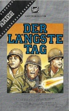 The Longest Day - German VHS movie cover (xs thumbnail)