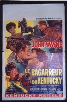 The Fighting Kentuckian - Belgian Movie Poster (xs thumbnail)
