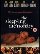The Sleeping Dictionary - British DVD cover (xs thumbnail)