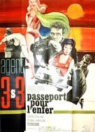 Agente 3S3: Passaporto per l'inferno - French Movie Poster (xs thumbnail)
