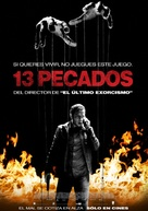 13 Sins - Argentinian Movie Poster (xs thumbnail)