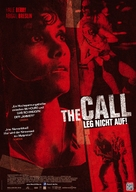 The Call - German Movie Poster (xs thumbnail)