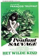 L'enfant sauvage - Belgian Movie Poster (xs thumbnail)