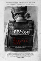 A Private War - Movie Poster (xs thumbnail)