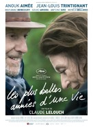 Les plus belles années d'une vie - French Movie Poster (xs thumbnail)