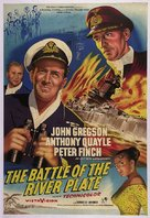 The Battle of the River Plate - British Movie Poster (xs thumbnail)