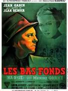 Bas-fonds, Les - French Movie Poster (xs thumbnail)