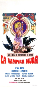La vampire nue - Italian Movie Poster (xs thumbnail)