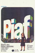 Piaf - Belgian Movie Poster (xs thumbnail)
