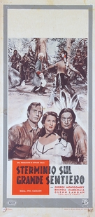 The Iroquois Trail - Italian Movie Poster (xs thumbnail)