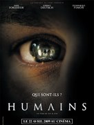 Humains - French Movie Poster (xs thumbnail)