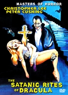 The Satanic Rites of Dracula - British DVD movie cover (xs thumbnail)