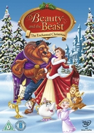 Beauty and the Beast: The Enchanted Christmas - British Movie Cover (xs thumbnail)