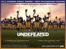 Undefeated - British Movie Poster (xs thumbnail)