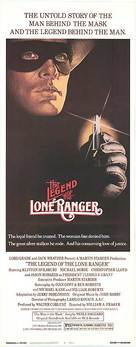 The Legend of the Lone Ranger - Theatrical movie poster (xs thumbnail)