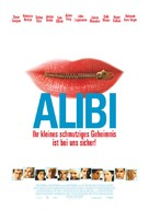 The Alibi - German poster (xs thumbnail)