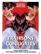 Betrayal - French Movie Poster (xs thumbnail)