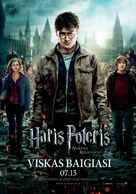 Harry Potter and the Deathly Hallows: Part II - Lithuanian Movie Poster (xs thumbnail)