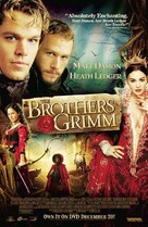 The Brothers Grimm - Video release poster (xs thumbnail)
