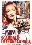 A Foreign Affair - Italian Movie Poster (xs thumbnail)