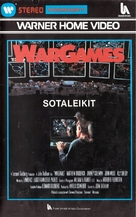 WarGames - Finnish VHS movie cover (xs thumbnail)