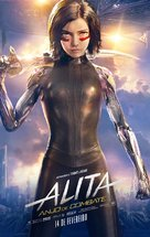 Alita: Battle Angel - Brazilian Movie Poster (xs thumbnail)