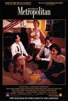 Metropolitan - Movie Poster (xs thumbnail)
