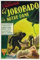 The Hunchback of Notre Dame - Argentinian Movie Poster (xs thumbnail)