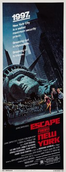Escape From New York - Theatrical poster (xs thumbnail)