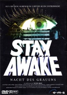 The Stay Awake - German DVD movie cover (xs thumbnail)