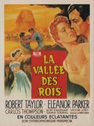 Valley of the Kings - French Movie Poster (xs thumbnail)